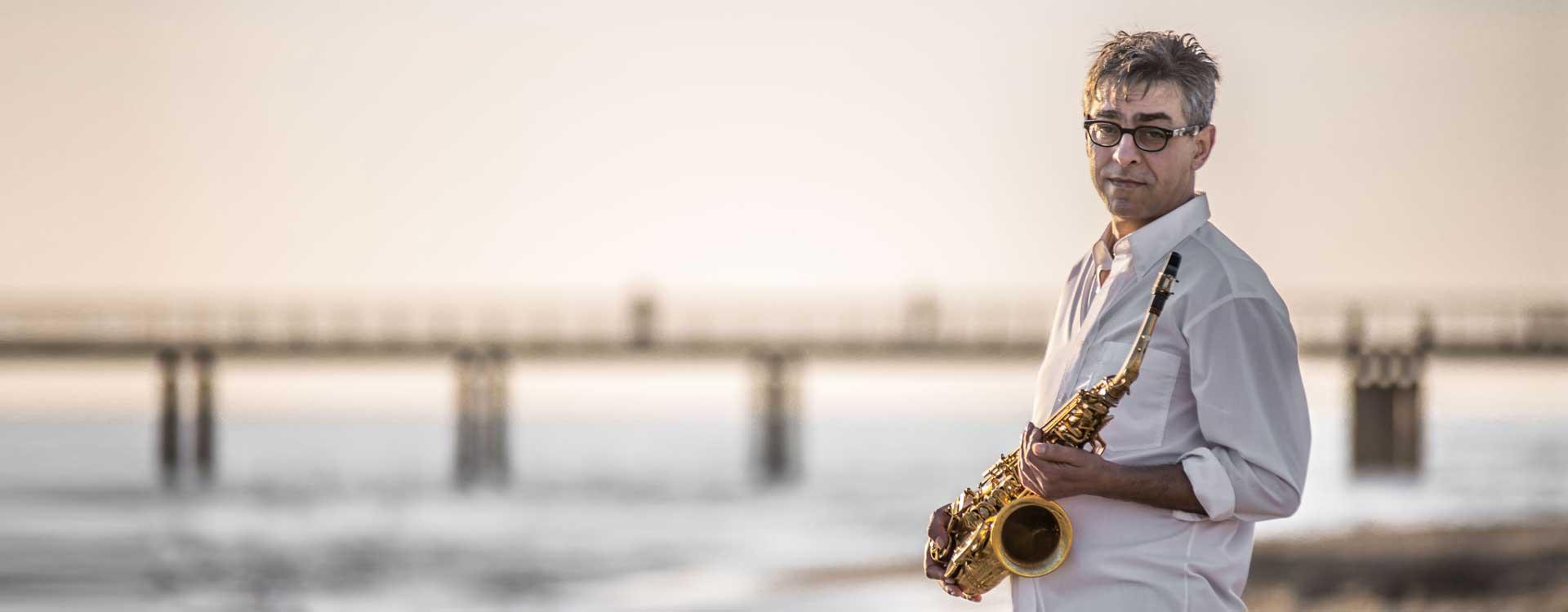 Alessandro Bertozzi sassofonista funky jazz